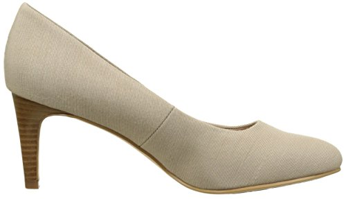 932 Mujer de Tommy Marrón 1d para Sand L1285isette Hilfiger Tacón Zapatos Desert qwPFg