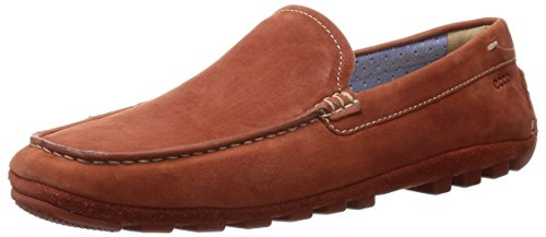 ECCO Men's Summer Moc Slip-On Loafer, Picante, 45 EU/11-11.5 M US by ECCO