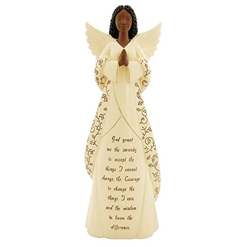 (Positive Image Gifts African American Graceful Serenity Prayer Angel Figurine Decoration 12 Inch New)
