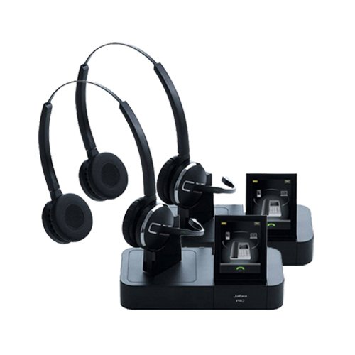 Jabra PRO 9465 Duo Wireless Headset with Touchscreen for ...