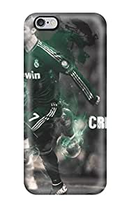 Forever Collectibles Cristiano Ronaldo Skills Hard Snap-on Iphone 6 Plus Case(3D PC Soft Case)