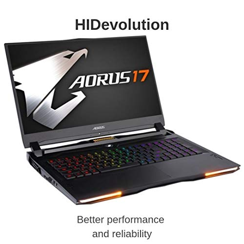 Comparison of HIDevolution AORUS 17 YA-9US2452SH (AO17-YA-9US2452SH-HID8) vs Alienware AW17R4-7345SLV-PUS