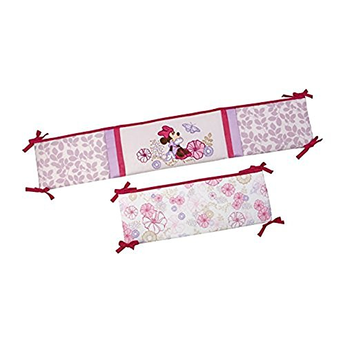minnie mouse crib bumper - 5