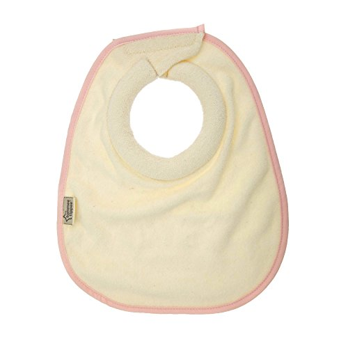 Tommee Tippee Closer to Nature Milk Feeding Bib, Pink, Small