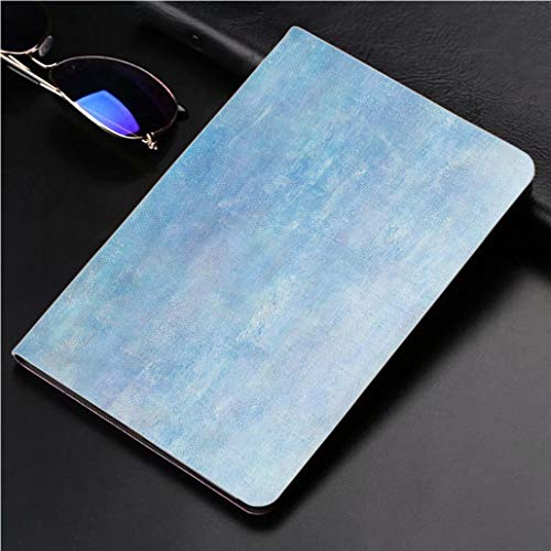 - Compatible with 3D Printed iPad Pro 10.5 Case Abstract Light Blue Oil Paint Background with Brush Stokes on Canvas 360 Degree Swivel Mount Cover for Automatic Sleep Wake up ipad case