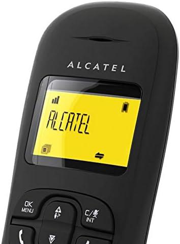 Alcatel ALC31C250N - Teléfono Fijo inalámbrico, Color Negro: Amazon.es: Electrónica