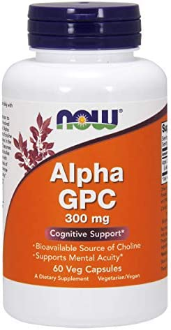 NOW Alpha GPC 300mg, 60 Stück