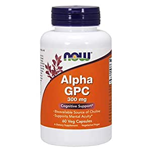 NOW Foods NOW Alpha Gpc 300 Mg Vcaps 60 Ct