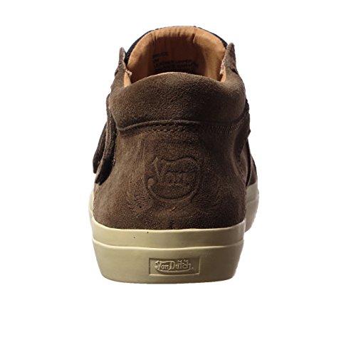 Da Olandese Mens Bruce Moda Sneaker Mandorla