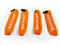 Rovan RC Shock Dust Covers (set of 4) (orange)