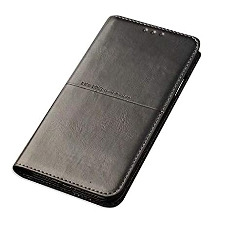 new style a6e13 a10a0 for iPhone Xs Max OG Rich Boss Leather Wallet Flip: Amazon.in ...