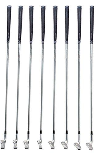 - Single Swing, Single Length Golf Iron Set (4-GW) (right, steel, regular)