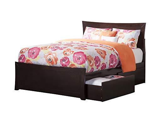 Atlantic Furniture AR9036111 Metro Bed Full Espresso