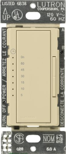 Ivory Timer - Lutron MA-T51-IV Maestro Countdown Timer, Ivory