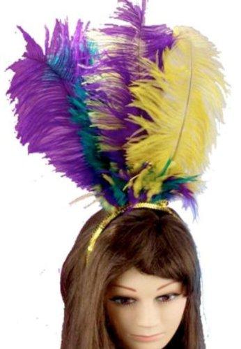 Forum Novelties Masquerade Feather Headpiece
