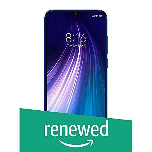 (Renewed) Redmi Note 8 (Neptune Blue, 4GB RAM, 64GB Storage)