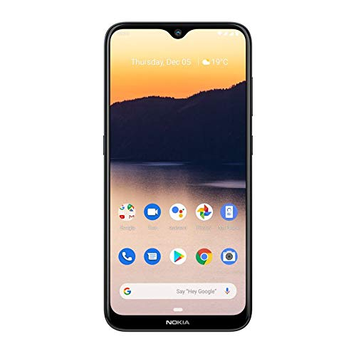 Nokia 2 3 Android 10 Smartphone 2gb Ram 32gb Storage Dual Rear Camera Charcoal Amazon In Electronics