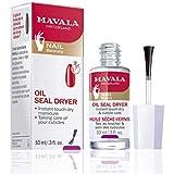 Mavala Oil Seal Dryer 10ml, Vermelho/Branco