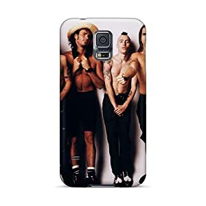 JamesKrisky Samsung Galaxy S5 Shock-Absorbing Hard Cell-phone Case Custom Lifelike Red Hot Chili Peppers Pattern [HCp6208czpO]