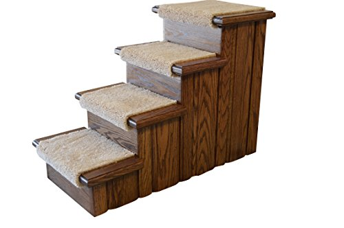 Premier Pet Steps Carpeted Tread Dog Steps, 23-Inch by Premier Pet Steps
