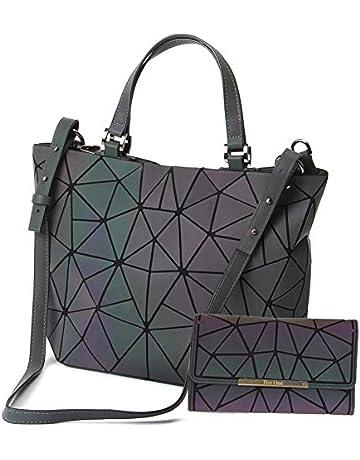 db9137eb0c HotOne Shard Lattice Design Geometric Bag PU Leather Unique Purses and  Handbags