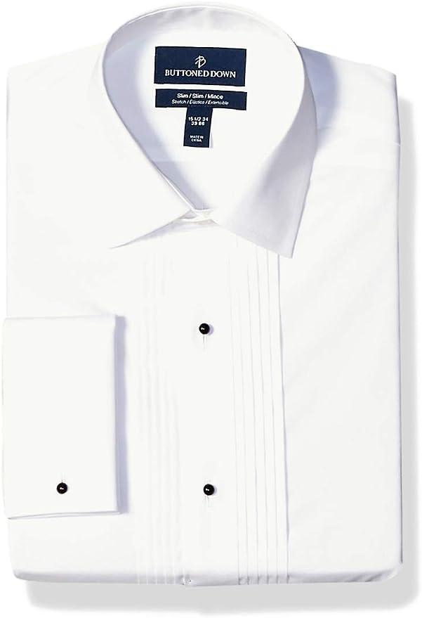 Bib Collar Tuxedo Shirt