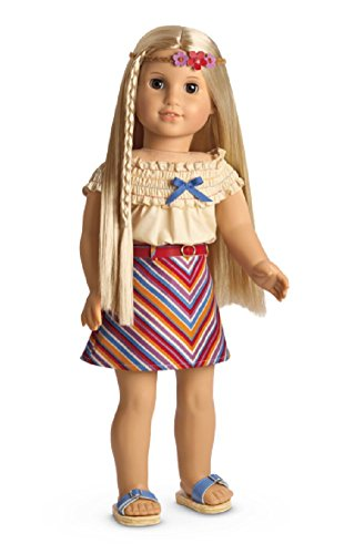 American Girl Julie's Summer Skirt Set for 18
