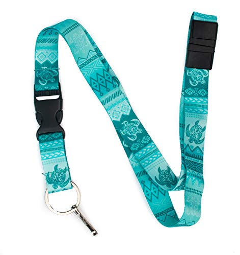 - Tattoo Tribal Turtle Premium Lanyard by Limeloot