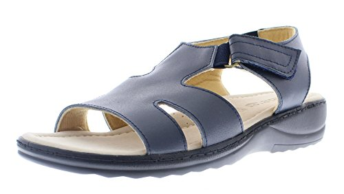 Leather Comfort Slides - 2
