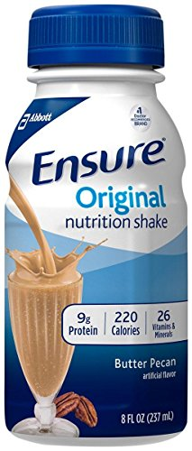 Ensure Nutrition Drink, Butter Pecan, 6 - 8 fl oz (237 ml) bottles [1.5 qt (1.42 l)]