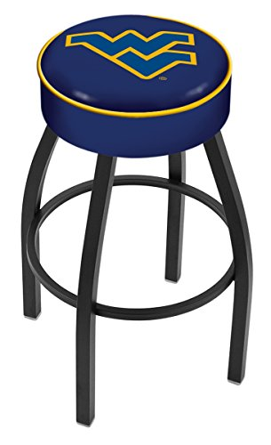 NCAA West Virginia Mountaineers 30'' Bar Stool by Covers by HBS
