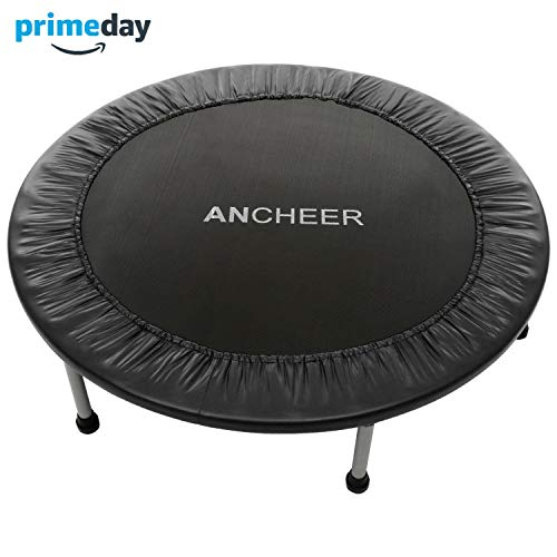 ANCHEER Max Load 220lbs Rebounder Trampoline with Safety Pad for Indoor Garden...