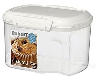 Sistema Bake It Food Storage for Baking Ingredients, Powdered Sugar Container 6.6 Cups (B002KKCLKU)   Amazon price tracker / tracking, Amazon price history charts, Amazon price watches, Amazon price drop alerts