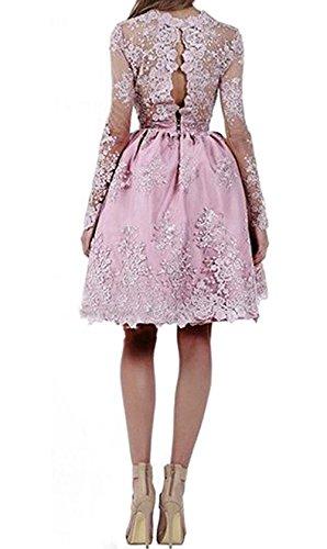 Dresses Long BD301 Formal Short BessDress Silver Lace Evening Homecomig Sleeves Dresses qxZxgn