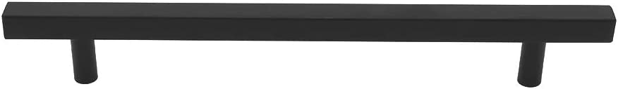 Cabinet Handles Black Kitchen Cabinet Pulls Black 10 Pack Peaha PHJ22BK 7.5 Drawer Pulls Bathroom Cabinet Hardware for Desk Bedroom Wardrobe