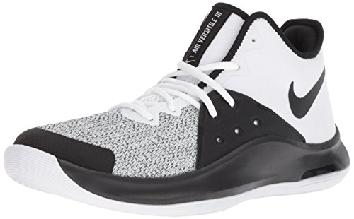 Scarpe dark Grey Nike Versitile – black white 100 Unisex Da Multicolore Iii Adulto Air Fitness ww1OTtaq