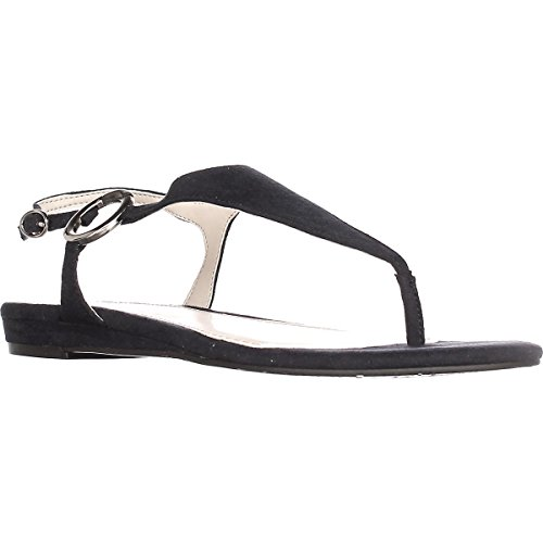 Alfani Womens Honnee Open Toe Casual Ankle Strap Sandals New Navy