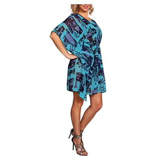4f6c733cffdd5 Milanoz Beach Dress Bikini Cover Up Tunic Beachwear Swimwear Animal Print  70%OFF