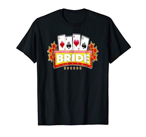 Las Vegas Wedding Bride Poker Tshirt