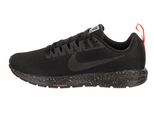 001 21 Zoom Schuhe Running Shield Structure Air Nike Laufschuhe WHITE Damen 907323 BLACK qvHtnpW6