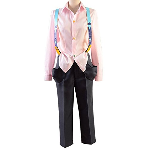 [Costhat Tokyo Ghoul Suzuya Juzo/ Ray Outfit Suit Uniform Cosplay Costume] (Ramen Noodle Costumes)
