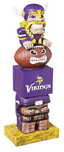 Gear Minnesota Vikings (Team Sports America NFL Minnesota Vikings Tiki Totem)