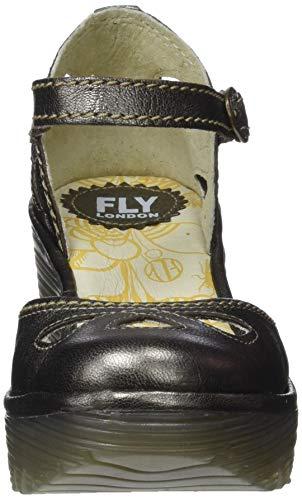 Fly 147 Scarpa Yuna Oro London Col Donna Tacco bronze rr1Aqwx