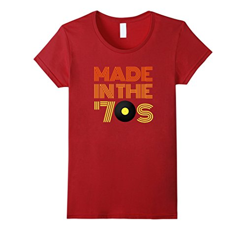 Womens Made in the 70s Shirt - Vintage 70s Retro T-shirt Men, Women XL (Women In The 70s)