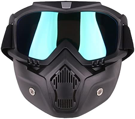 PiscatorZone Kids Goggles Mask Tactical Goggles