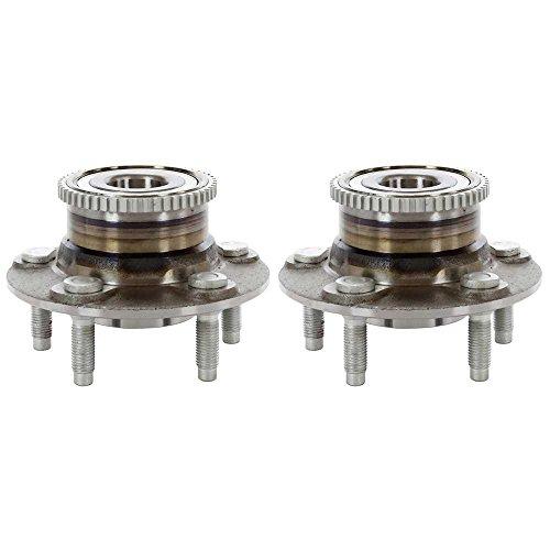 Prime Choice Auto Parts HB612165PR Rear Hub Bearing Assembly Pair (Ford Taurus Rear Hub)