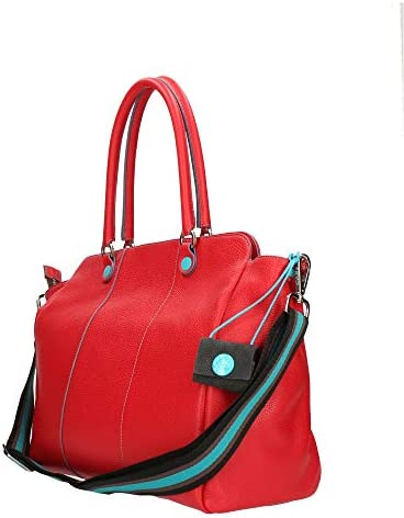 GABS Borsa Thelma ruga shopping trasformabile tg L sangue