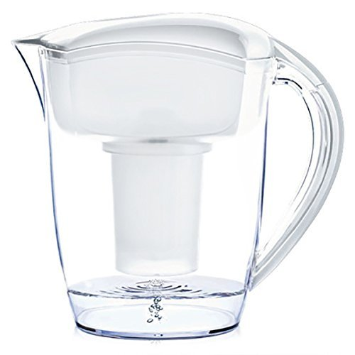 Santevia-Water-Systems-Alkaline-Water-Pitcher-White-by-Santevia-Water-Systems