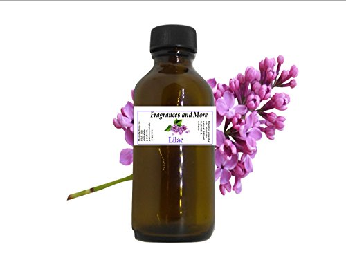 Lilac Fragrance Oil 2 ounces Soap and Candle Making, Home Scents and Bath n' Body (Lilac Scent Oil)