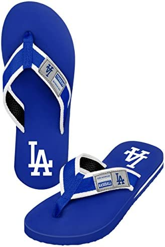 FOCO MLB Forever Collectibles men's Locker Label Contour FLIP FLOP